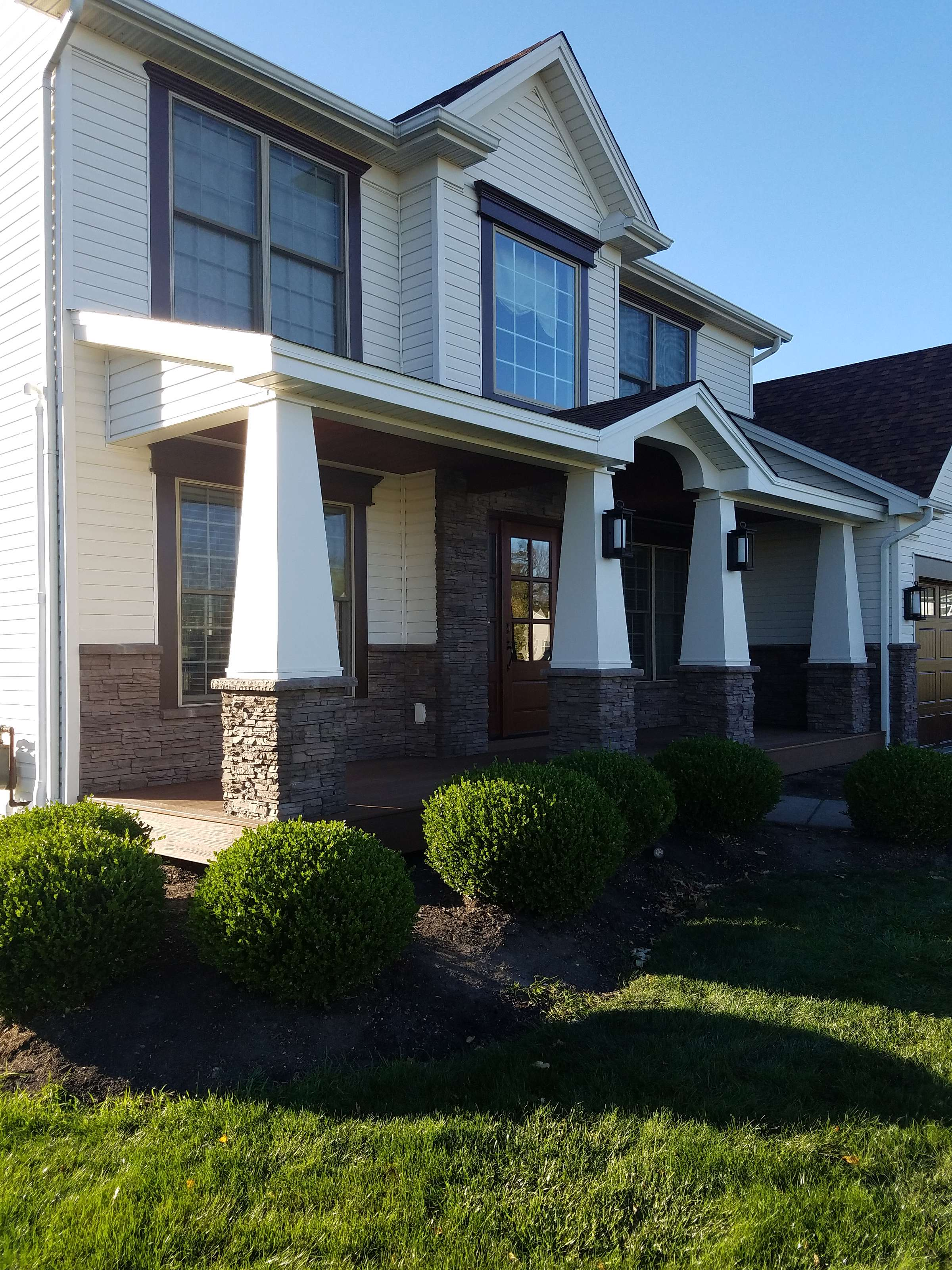 Home Exterior Enhancements Russell Renovations Wny Inc